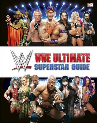 毛毛小舖--WWE摔角 Superstar Guide 最新修訂精裝版 John Cena 江西男 巨石強森