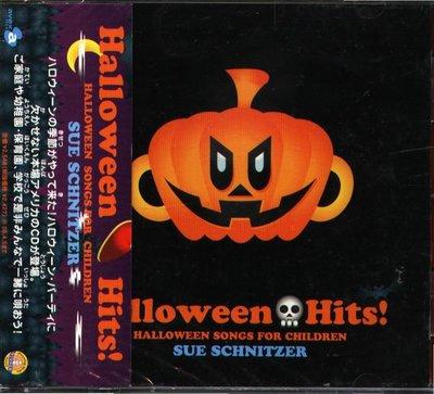 K - Halloween Hits Songs For Children SUE SCHNITZER 日版 - NEW
