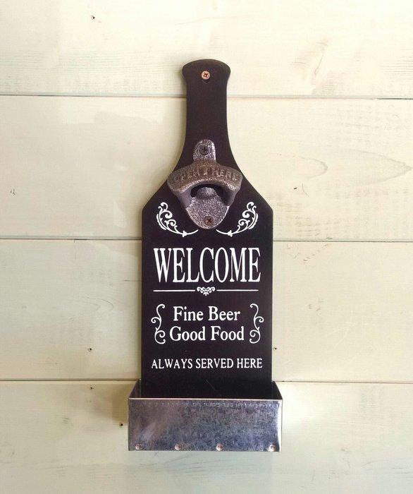 齊洛瓦鄉村風掛式酒瓶開瓶器