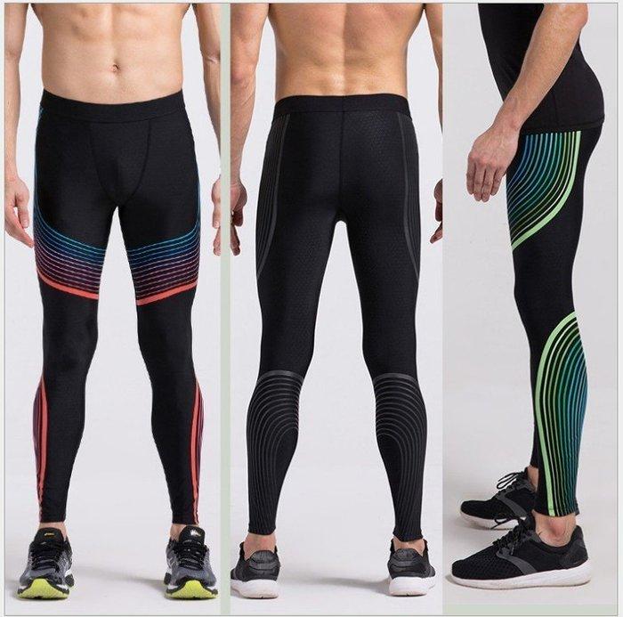 【Zoe Sport 柔依運動衣坊】男 9分壓力褲 緊身褲 束褲 流光版 數碼印花 同款Nike #C43-P01