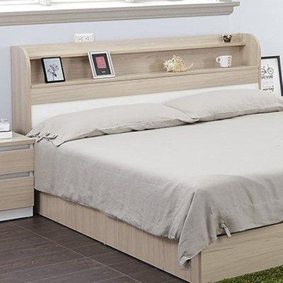 【生活家傢俱】HJS-421-3※艾美爾6尺上掀式床頭箱-羅漢松【台中7000送到家】E1系統版 床頭櫃 雙人 低甲醛
