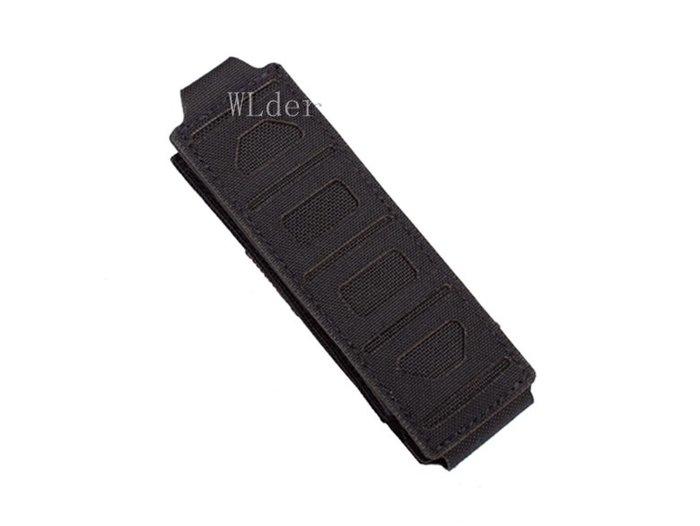 [01] PSIGEAR Skewer 衝鋒槍 快拔 彈匣包 黑 ( PSI軍品真品軍用警用彈匣套彈夾袋雜物袋工具袋