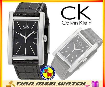 【全新原廠CK】【天美鐘錶店家直營】【下殺↘超低價有保固】 Calvin Klein 經典紳士款 K4P211C1