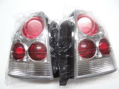 HONDA 本田 CIVIC K8 三門  紅白 晶鑽 尾燈 一對