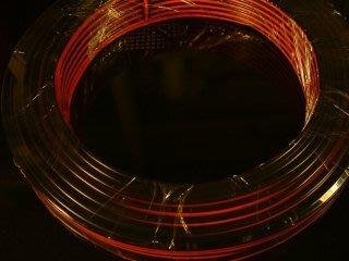 (1捲50米) 喇叭線 50芯 紅黑色 導線 銅線 多芯線 多心線 多蕊線 多股線 電線