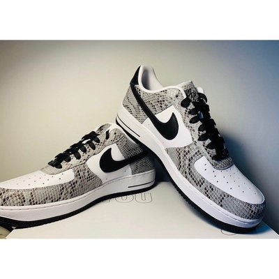 Nike Air Force 1 LOW Cоcoa Snake Returning February 白蛇 日本限定
