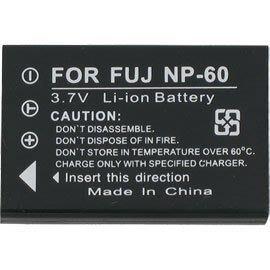 FUJIFILM 數位相機專用高容量副廠鋰電池 NP-60