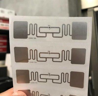 RFID 超高頻電子標籤 UHF 915MHz ETC eTag 車道感應貼紙 門禁 社區停車場進出入管理 透明版 台北市