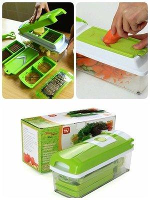 ((囤貨王))現貨 特價 Nicer Dicer Plus 多功能切菜器 好神切 切丁器 購物台 多功能蔬果處理器 露營