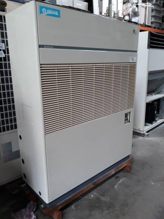 (大台北)中古日立10RT水冷箱型機3φ380V(編號:HI1071004)~冷氣空調拆除回收買賣出租~