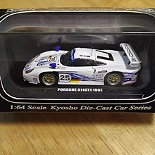 京商 Kyosho 1/64 Beads Collection Porsche 911GT1 1997 LeMans no.25
