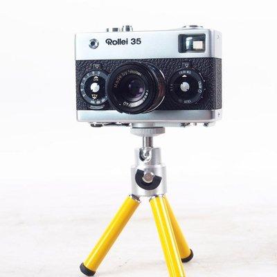 百寶軒 9品德國祿來新加坡產Rollei35機械旁軸膠捲相機收藏品快門工作 ZG2038