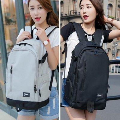 後背包 後背包男韓版學院高中學生書包女大容量旅行電腦包ins超火背包女  西城集市