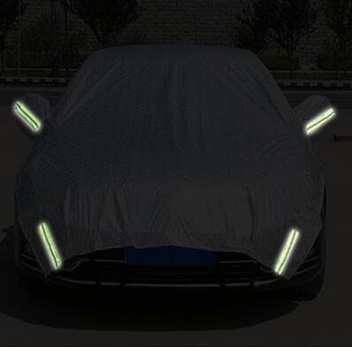 汽車引擎蓋半罩車衣車罩加長SUV越野轎車前擋防曬隔熱遮陽擋加厚