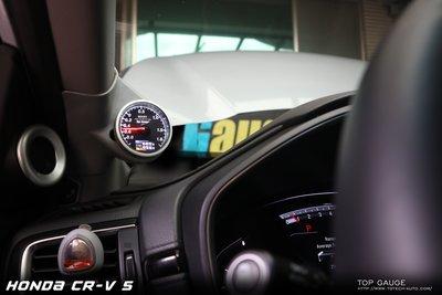 【精宇科技 Top Gauge HONDA CRV5 CRV-5 專用A柱多功能 渦輪錶 進氣溫 水溫錶 電壓錶 四合一