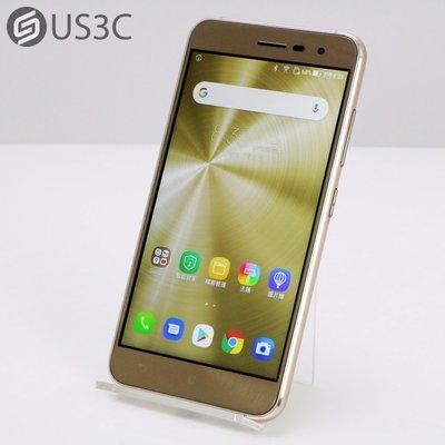 【US3C-高雄店】【一元起標】華碩 ASUS ZenFone 3 ZE520KL 5.2吋 32G 閃耀金 空機 二手手機