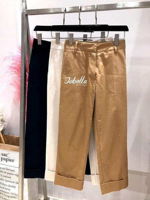 ✽JoBella 韓國空運 韓國代購✽韓貨✽ 褲管反折挺版西裝褲 現貨 特價