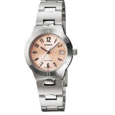 CASIO卡西歐三針-時、分、秒針設計強調都會優雅氣質 (LTP-1215A) (LTP-1241 D -4A3)學生錶