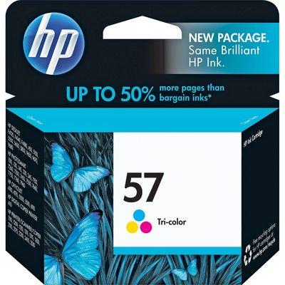 [哈GAME族]全新 HP C6657A 彩色墨水 原廠墨水匣 盒裝