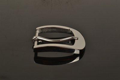 『老兵牛仔』WK-506不銹鋼日字針扣扣頭/奧氏體型SUS304弱磁性不銹鋼