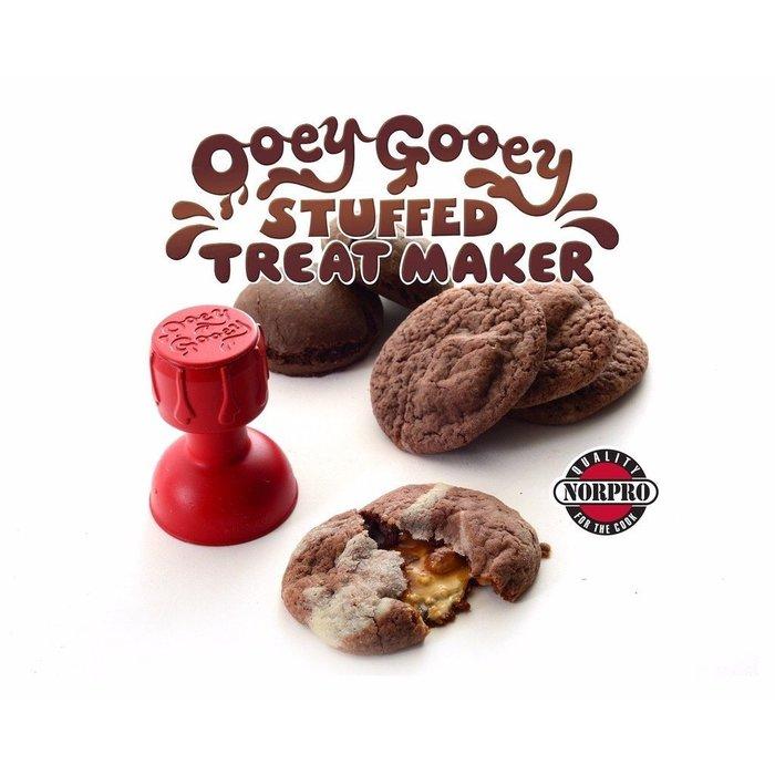 Colorful DAY 歐美Norpro Ooey Gooey Stuffed DIY爆漿甜點模型模具1062251