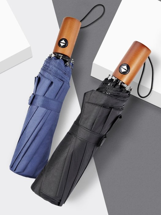 熱賣款--雨傘折疊男全自動加大加固十骨抗風折疊傘男女晴雨兩用雙人商務傘#雨傘#遮陽#防雨#折疊自動