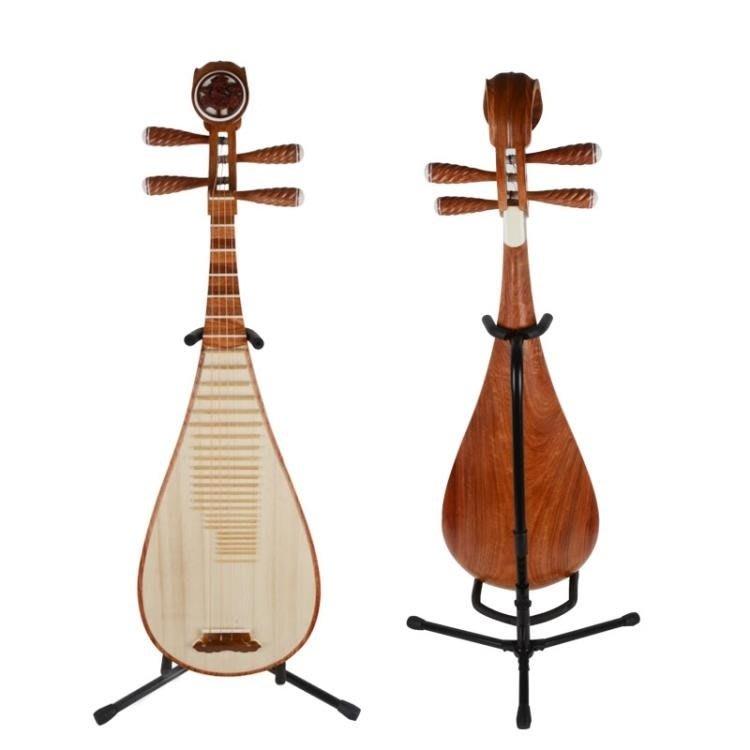 琵琶架子 民謠琵琶支架電吉他架貝司琵琶吉它琴架立式架 [免運✿貝貝海灘]