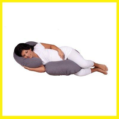 【現貨】美國代購 Snoogle Leachco 天空灰 SkyGray 孕婦專用抱枕托腹枕3600含運 直接下標即可