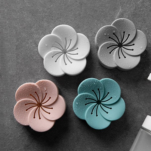 花朵薰香盒 廁所衣櫃除味除臭盒補充包【庫奇小舖】【S387】