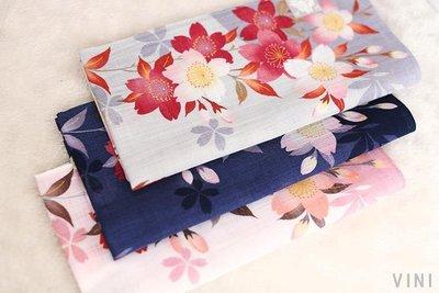 VINI 日本制 山本仁 女士手帕 手絹 純棉 超薄柔軟 吸汗 日式方巾垂枝