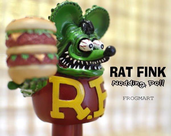 (I LOVE樂多)值得入手RAT FINK RF 老鼠芬克 屁屁可動玩偶 此為12CM賣場(停產就買不到了)
