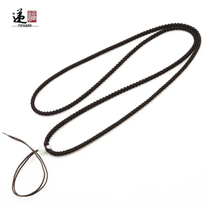 衣萊時尚-TIFOORR/遞福簡約掛繩固定款可調節吊墜繩黃金掛件繩珠寶繩男女繩