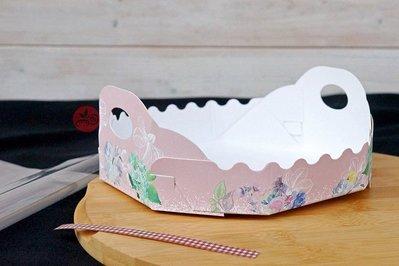 6吋蛋糕包裝禮袋_花漾小姐_10入/包_SC990022◎蛋糕.麵包.餅乾.甜點.包裝.包裝袋.透明.含內襯