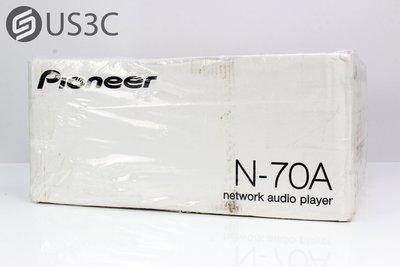 【US3C】【全新未拆】Pioneer N-70A 網路音樂播放器 3.5吋彩色LCD 三腔室分離 內建耳機擴大機