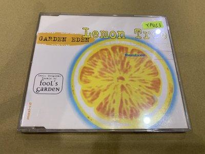 *還有唱片行*GARDEN EDEN / LEMON TREE 二手 Y9463