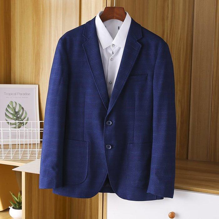 [C.M.平價精品館]新品特價165~185品味有型帥氣百搭藍色休閒西裝外套
