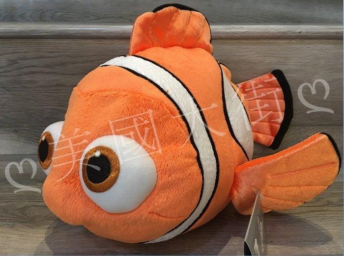 【美國大街】正品.美國迪士尼海底總動員多莉去哪兒尼莫絨毛娃娃 Nemo 15吋 / 38cm