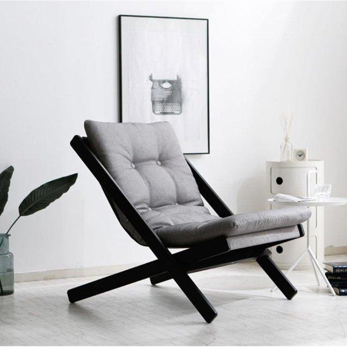 懶人沙發 單人休閒個性創意小戶型沙發椅迷你臥室客廳陽臺單人沙發sys