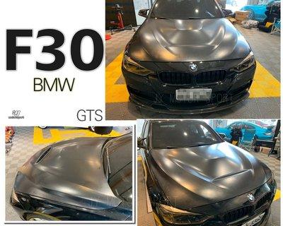 小傑車燈-寶馬 BMW 3系列 4系列 F30 F31 F32 F33 F34 F36 GTS 鋁合金 引擎蓋 限定款
