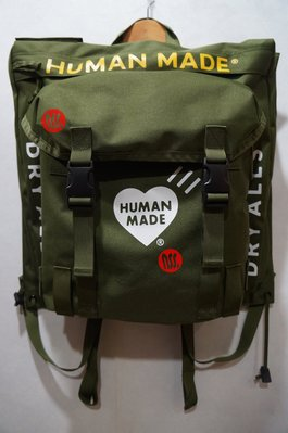 「NSS』HUMAN MADE MILITARY RUCKSACK 後背包 BACKPACK