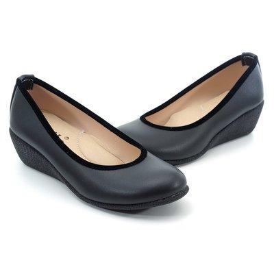 ❤含運❤MIT│鞋念 美人館 │OL最愛系列.圓頭素面美型舒適鞋-黑色35-40碼(A850-63) 新鮮人必備 畢業季