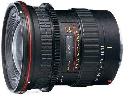 【華揚數位】☆全新Tokina AT-X 116 PRO DX V 11-16mm 錄影追焦版本 公司貨