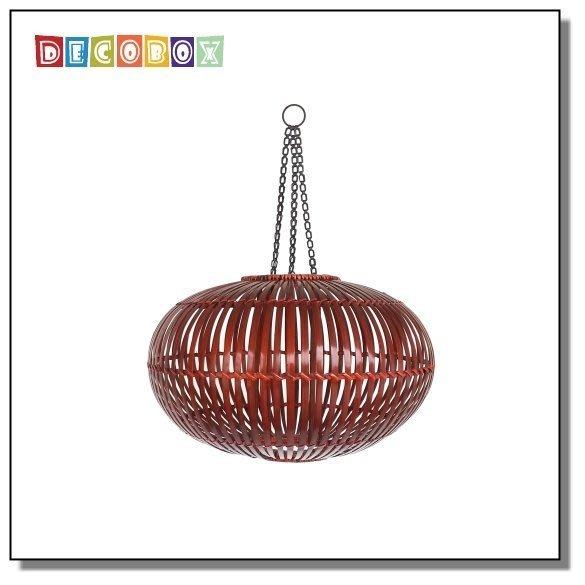 DecoBox中國風經典竹燈罩(40公分-1個)(桌燈罩.立燈罩.吊燈罩)-(不含燈泡線材)