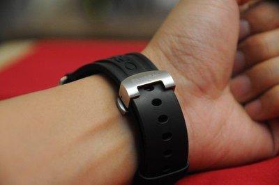 【SUM錶配】 橡膠/矽膠錶帶 22MM收20 含蝴蝶扣款 有logo適合40MM錶  (實物如圖)