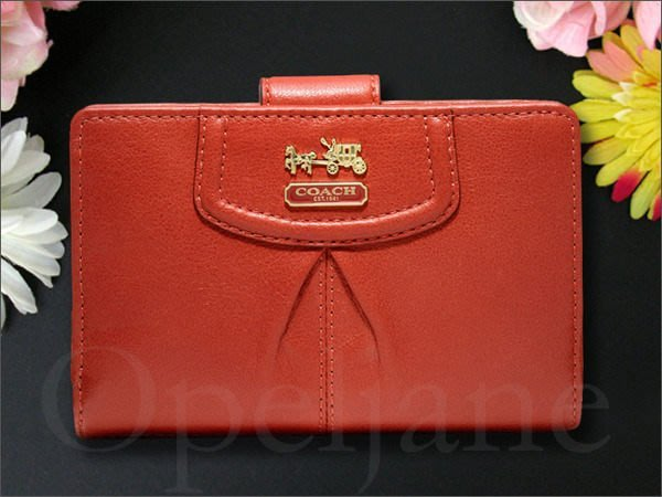 Coach 46609 麥迪遜真皮ID中夾 短夾 皮夾 信用卡 證件 零錢 免運費 愛Coach包包