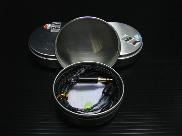 ((線材小舖)) 全新品 RK 5N OCC 銀 高級耳機線 1.3M (TF10)