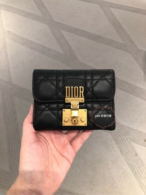 (Lins英倫代購)Dior Dioraddict 短夾