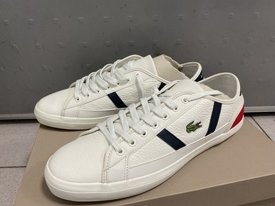 Lacoste男性休閒鞋 Sideline Leather and Suede Sneakers