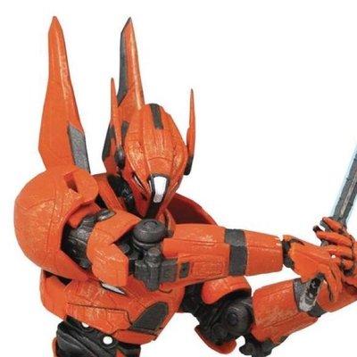 "Diamond Select Toys 7"" Action Figure Pacific Rim 2 uprising Saber Athena"