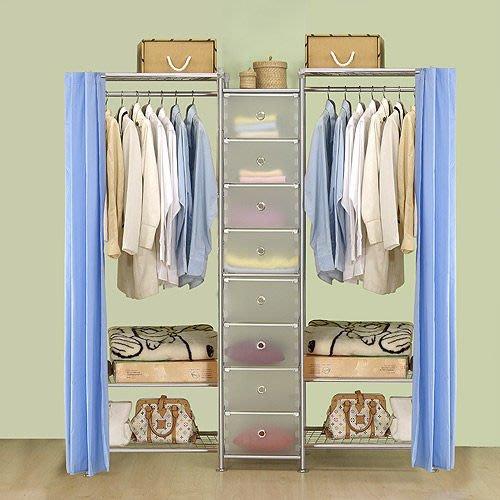 【中華批發網DIY家具】D-62B-01-W3型60+pp+W3型60衣櫥置物櫃-(前罩)不織布